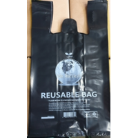 REUSABLE PLASTIC SHOPPING BAG thumbnail image