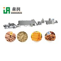 Hot Selling Core Filling Food Inflating Device Cereal Bar Puffed Equipment Production Line