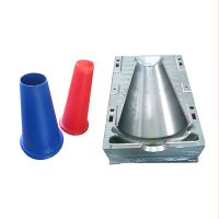 Blow Molding Processing Plastic Road Block Mould