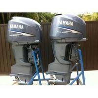 2004 F225 YAMAHA 225HP 225 HP FOUR STROKE TWIN PAIR OUTBOARD MOTORS