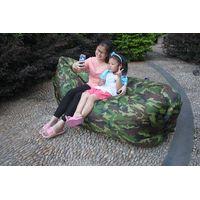 Inflatbale Camo air sleeping bag