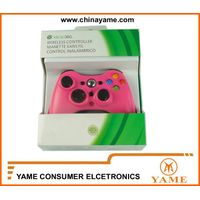 xbox 360 wireless controller red,green,blue,rose red