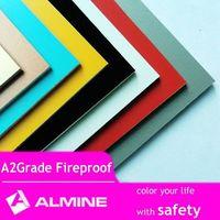ALMINE---A2 / B1 Fireproof ACP panel, Facade Cladding, Exterior Decorative Panel ,Aluminium Composie thumbnail image