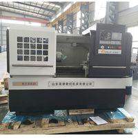 Cheap China flat bed cnc lathe new small high precision CNC Lathe CK6136D thumbnail image