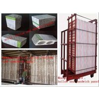 Mould machine for making eps light weight wall panels thumbnail image