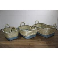 Seagrass baskets for office furniture - BH3295A-3MC