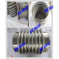 Grade 5 ASME B16.9, ASME B16.5 Titanium and titanium alloy corrugated pipe