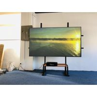 First half year 2020 Best sales pet crystal aluminium frame clr projection screen
