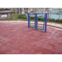 Good quality and competitive price non-toxic and anti-slip outdoors rubber tiles thumbnail image
