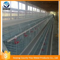 3 tiers folding chicken cages kenya for hen