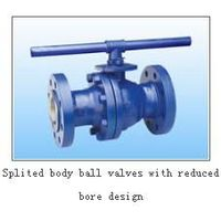 ball valve with reduced  core design