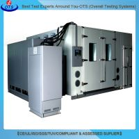 Electronic Climatic Drive-in Test Room Walk in Refrigerator Temperature and Humidity Test Chamber