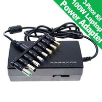 100W Laptop Power Adapter 3-Piece Kit (15V-24V Output) thumbnail image