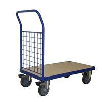 1102 Lbs Steel Bound Wood Deck Platform Truck