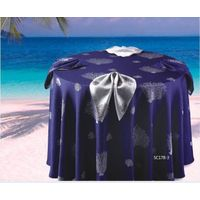 100% polyester table cloth for hotel banquet and hospital use round and square shape all size availa