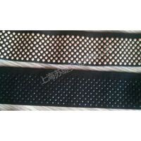 Hot printed silicone webbing ribbon for garment accessory