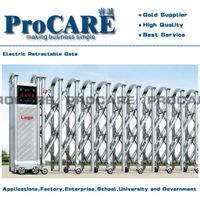 Foshan Stainless Steel Trackless Expandable Gate Price