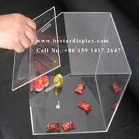 China supplier sell good quality clear acrylic candy box
