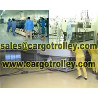 Air casters moving heavy duty equipment easily and safety