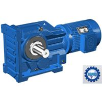 K Series Helical Bevel Gear Reducer / Gear Reduction Box Speed Reducer
