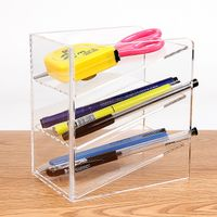 acrylic pen holder dispenser displaly