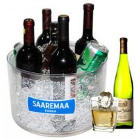 Sell high quality large round ice bucket(IR-010B)