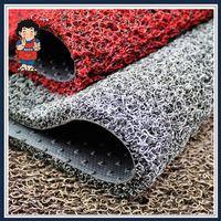 PVC Printing/Anti Slip/Non Slip/Flooring/Coil /Car/Door Carpet Mat with Spike Backing