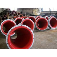 rubber lined tube used to carry mining tails