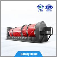 ZJN Drying Machine for environmental solution sludge treatment for Food Waste Dryer