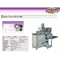 Paper plate & tray forming machine thumbnail image