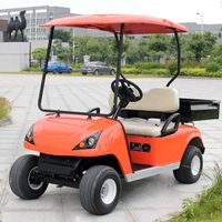 battery power cargo box 2 person golf buggy thumbnail image