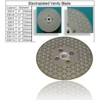 Electroplated Vanity Blade