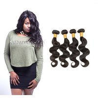 [8A]4 Bundles Peruvian Body Wave Hair Weave