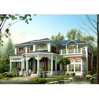 prefabricated house and villa