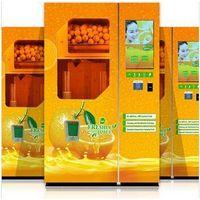Juice vending machine