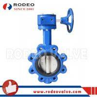 Worm gear operated lug butterfly valve thumbnail image