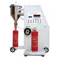automatic fire extinguisher  powder filling machine