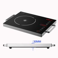 Super-Slim Hi-light Glass-ceramic cooker