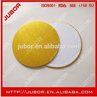 Wholesale Gold Round mdf Cake Boards