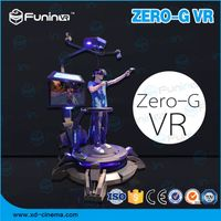 FUNINVR ZHUOYUAN Omni-directional Foot-controlling Flight Simulator for sale thumbnail image