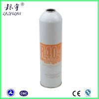 Empty R134a gas can to fill 12oz refrigerant gas R404