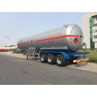 Popular lpg semi trailer tanker for sale malaysia with high quality