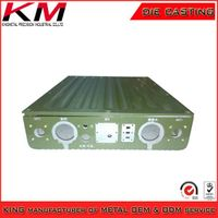 OEM powder coated waterproof IP67 casting Instrument enclosure
