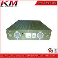 OEM powder coated waterproof IP67 casting Instrument enclosure