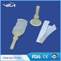 Male External Catheters with Adhesive Tape FCT04 Male External Catheters Urinary Catheterization thumbnail image