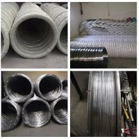 Galvanized Oval Fence Wire