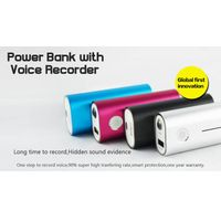 Long Time Voice Recorder Power Bank