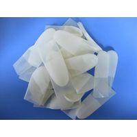 transparent cut type powder free latex finger cot