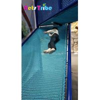Kids pure manual combination trampoline software climbing nets indoor playground