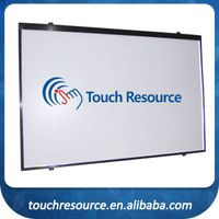 CE & ROHS certified finger touch smart interactive whiteboard